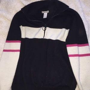 Forever 21 quarterzipped sweater (barely worn )